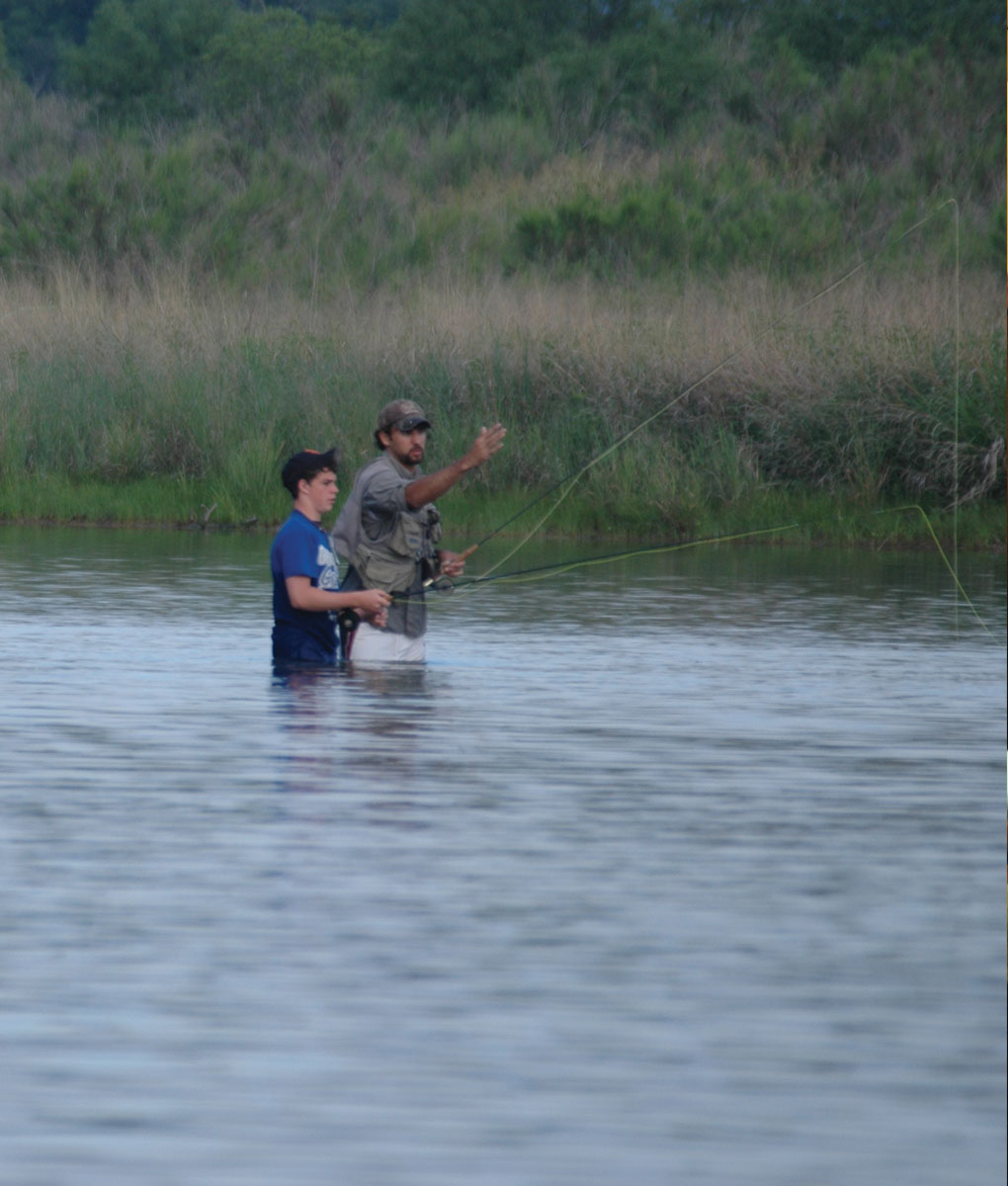 Fly fishing lessons hill country fly fishers for Fly fishing classes